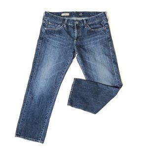 AG Adriano Goldschmied The Tomboy Crop Jeans 28